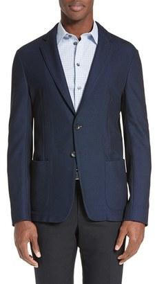 Men's Armani Collezioni Knit Sport Coat $895 thestylecure.com