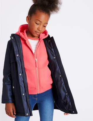 Marks and Spencer Fisherman Coat (3-16 Years)
