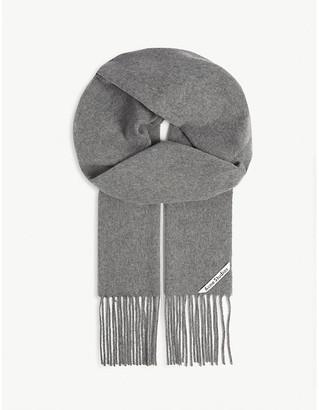Acne Studios Canada skinny scarf