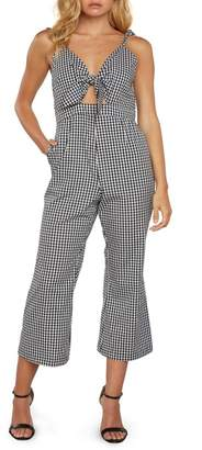 Willow & Clay Gingham Culotte Jumpsuit