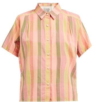 Ace&Jig Winne Striped Cotton Shirt - Womens - Pink Multi