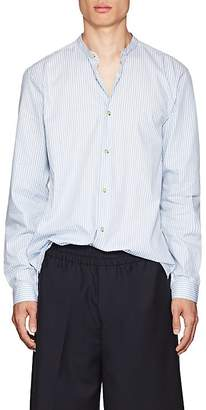 Acne Studios Men's Pine Soft Pop Striped Cotton Poplin Shirt