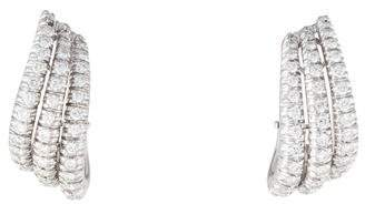 Damiani 18K Diamond Earclips