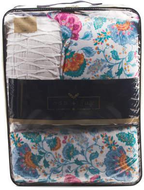 Belissima Pintuck Comforter Set