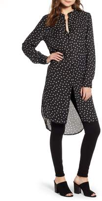Bishop + Young BISHOP AND YOUNG Soho Leaf & Dot Print High/Low Tunic