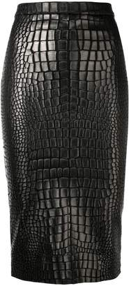 Tom Ford textured pencil skirt