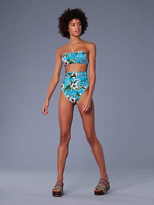 Diane von Furstenberg Straight Bandeau Bikini Top