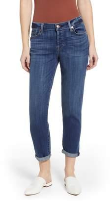 7 For All Mankind Josefina Ankle Boyfriend Jeans