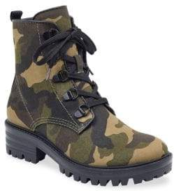 KENDALL + KYLIE Epic3 Camouflage Moto Boots