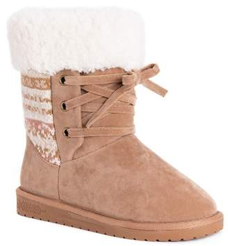 Muk Luks Melba Faux Shearling Lined Boot