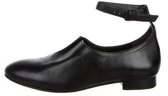 Opening Ceremony Leather Round-Toe Loafers