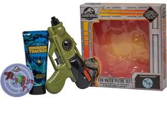 Mandmdirect.Com Universal Jurassic World Water Pistol Set 150ml Bath & Shower Gel Gift Set