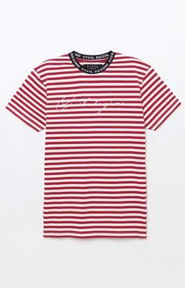 Civil Era Stripe Red T-Shirt