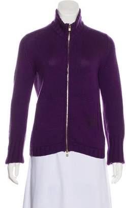 Loro Piana Cashmere Zip-UpSweater