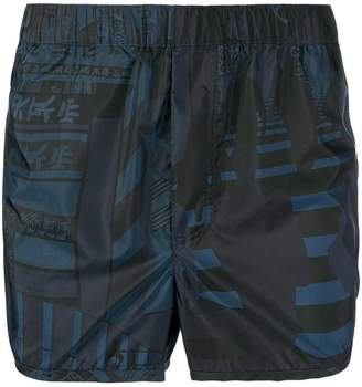 Valentino Japan print swim shorts