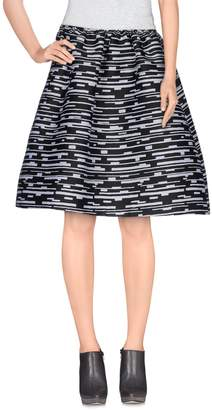 Jil Sander Navy Knee length skirts