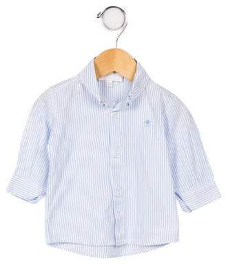 Aletta Boys' Striped Poplin Shirt