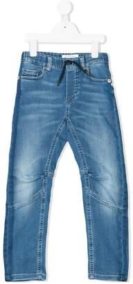 John Galliano washed straight leg jeans