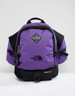 The North Face Wasatch Reissue Backpack 35 Litres in Purple