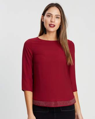 Dorothy Perkins Heat Fix Hem Detail Top