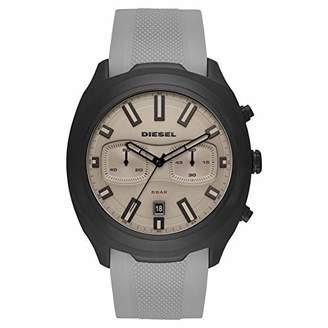 2b8d391b708d Diesel Mens Chronograph Quartz Watch with Silicone Strap DZ4498