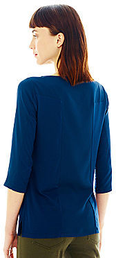 Joe Fresh Long-Sleeve Panel Top