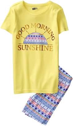 Crazy 8 Crazy8 Sunshine Shortie 2-Piece Pajama Set