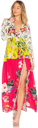 Rococo Sand Bloom Maxi Dress