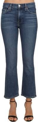 RE/DONE Re Done Mini Flare Mid Rise Stretch Denim Jeans