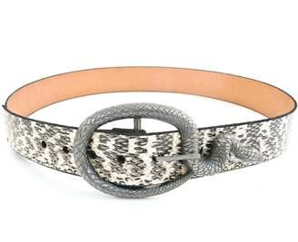 Annie Diamantidis Genuine Snakeskin Belt