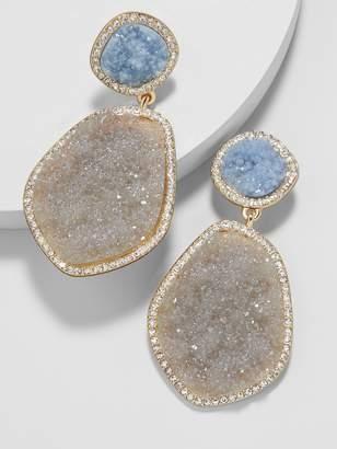 BaubleBar Vina Druzy Drop Earrings