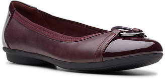 Clarks Womens Gracelin Wind Ballet Flats Round Toe