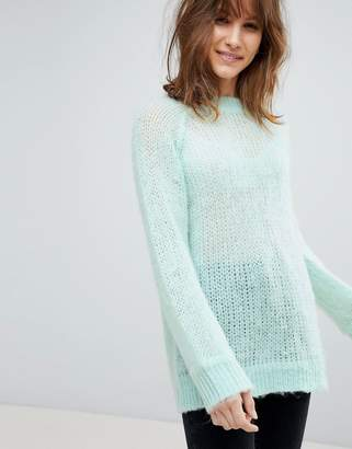 eed267546 Asos Design DESIGN oversized jumper in fluffy yarn