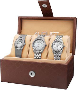 August Steiner Women's Set Of Three Watches