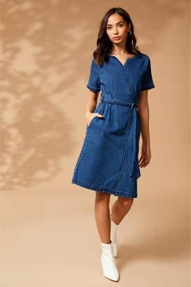 4e34b8cacc Next Womens Yumi Denim Dress