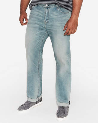 Express Classic Boot Light Wash Stretch+ Jeans