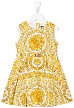 Versace baroque pattern dress