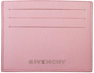 Givenchy Pink Bicolor Pandora Card Holder