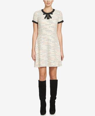 CeCe Chloe Tweed A-Line Dress $148 thestylecure.com