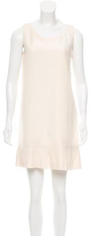 pradaPrada Silk & Linen-Blend Dress