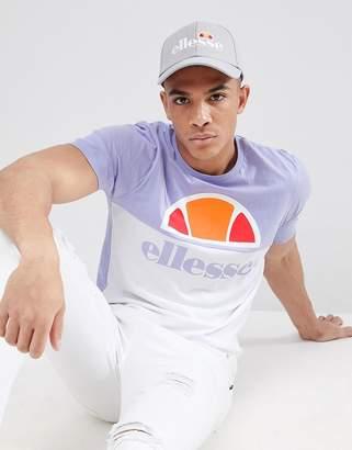 Ellesse Arbatax panel t-shirt in lilac