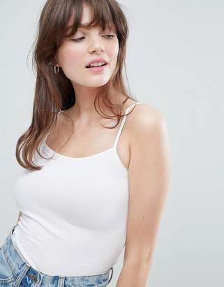 Monki Cropped Cami Tank