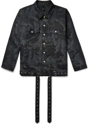 Alyx + Mackintosh Printed Bonded Cotton Trucker Jacket