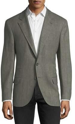 Brunello Cucinelli Triblend Herringbone Sport Jacket
