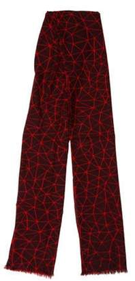 Armand Diradourian Wool & Cashmere-Blend Printed Scarf red Wool & Cashmere-Blend Printed Scarf