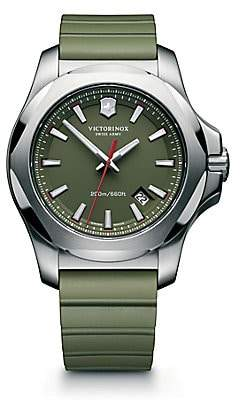 Victorinox Men's Inox Stainless Steel Watch