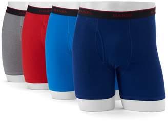 Hanes Men's' Comfort Cool 4-Pack Sport Boxer Briefs