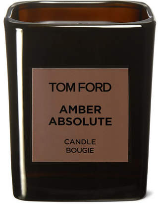 Tom Ford Grooming - Amber Absolute Scented Candle, 200g - Colorless