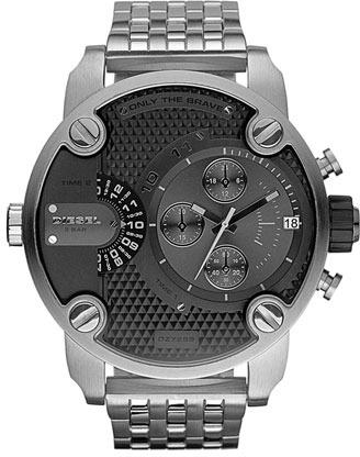 Diesel 'Little Daddy' Chronograph Bracelet Watch, 51mm