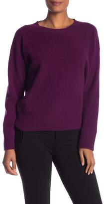 Vince Oversized Crew Neck Cashmere Pullover